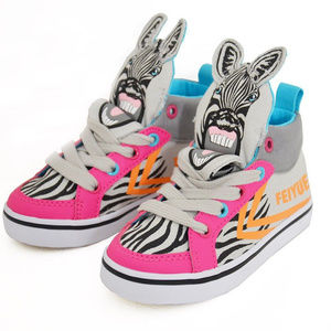 FEIYUE Girls Hi-Top Sneakers